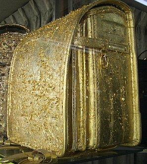 パルタカヤナギの純金箔ランドセル