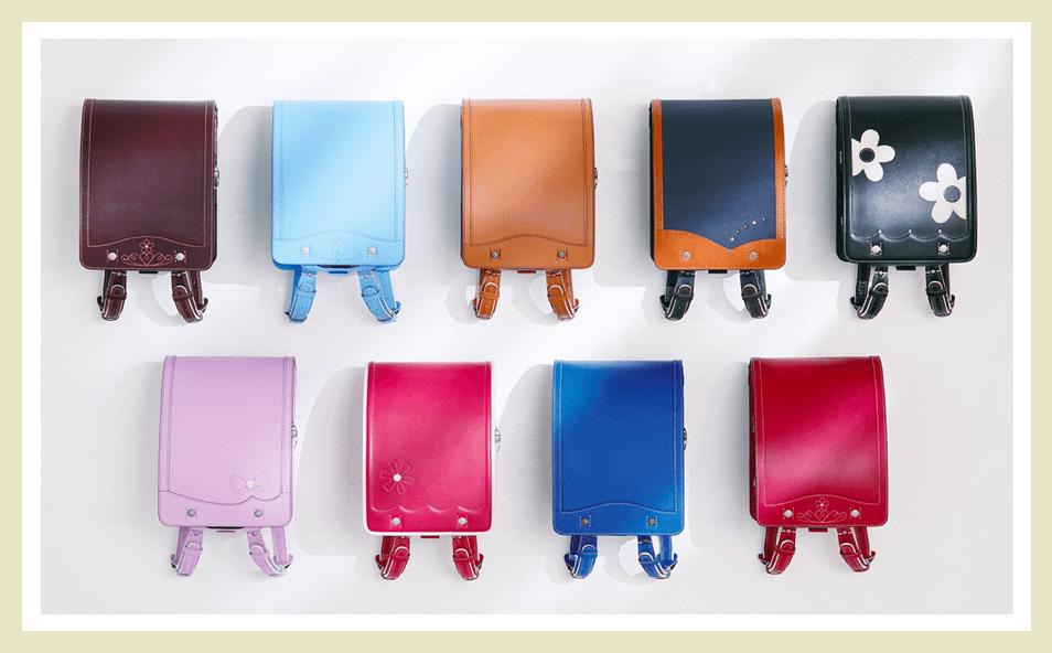 鞄工房山本のランドセルのデザイン