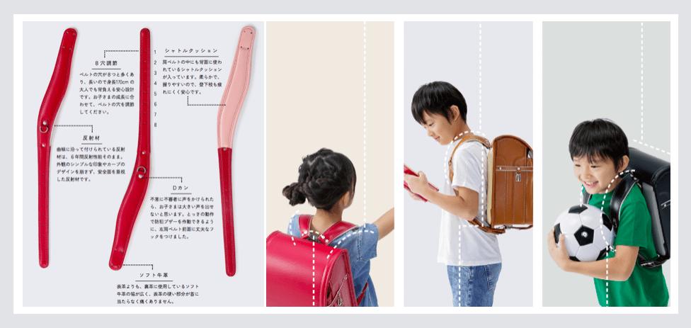 中村鞄の肩ベルト