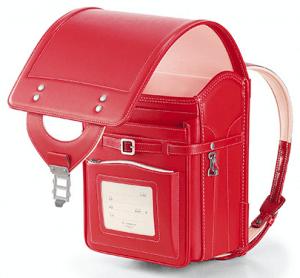 牛革 ベーシックカラー 赤×さくらのイメージ