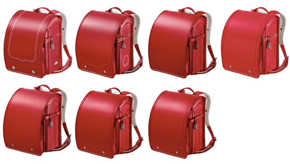 セイバンの赤のランドセル2021年版