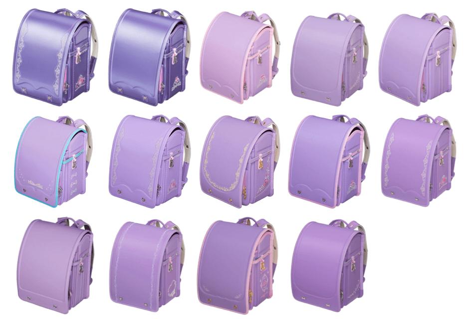 フィットちゃん:女の子用紫のランドセル一覧