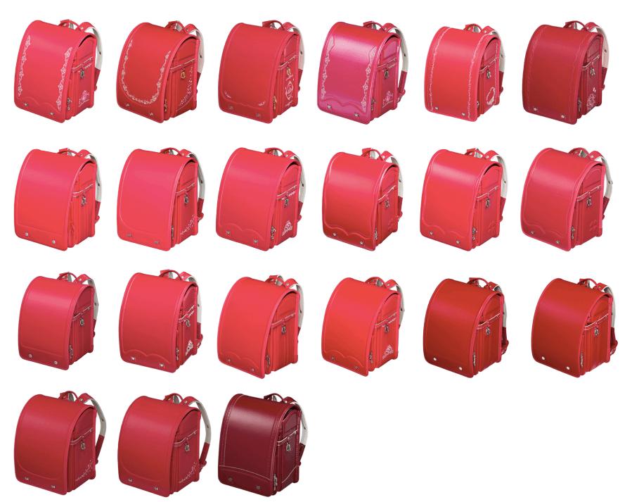 フィットちゃんの赤のランドセル2021年版