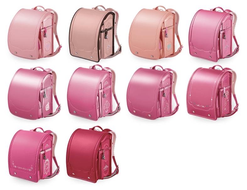 セイバンのピンクのランドセル2021年版