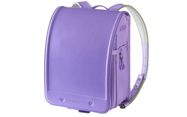 池田屋:マットクラリーノ カラーステッチの紫色