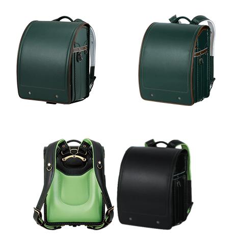 萬勇鞄の緑のランドセル一覧