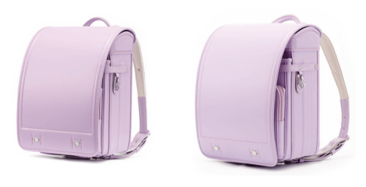 黒川鞄の紫色ランドセル2021年