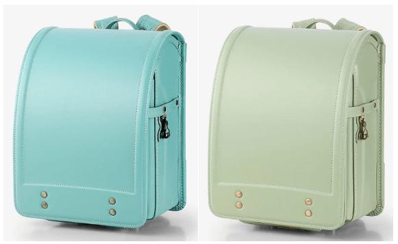 土屋鞄のミント・グリーン系ランドセル2021年