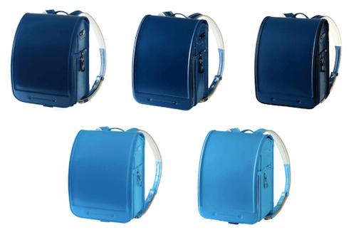池田屋の青のランドセル2021年