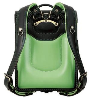 萬勇鞄のファルベ グリーン2021年